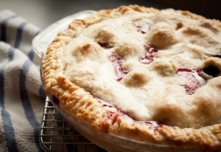 Blackberry Peach Pie