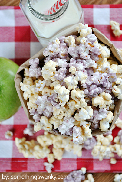 PB and Jelly Popcorn